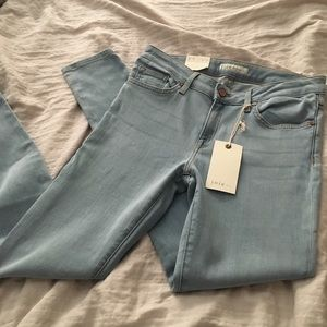 Joie light blue mud-rise skinny jeans- NWT- 29
